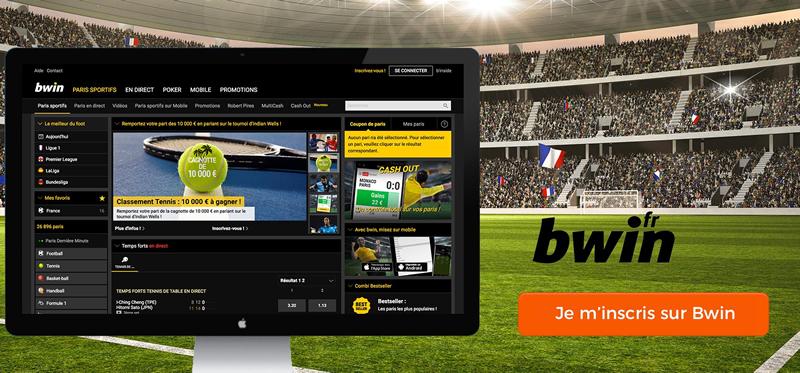 Bwin.fr - le plus stylé et professionnel des sites de paris sportifs.