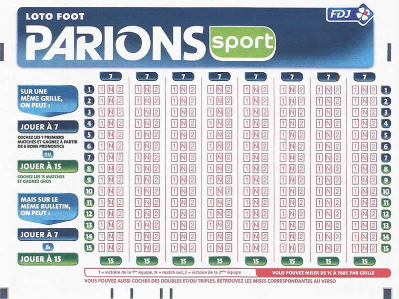 La grille loto 7 peut faire gagner des milliers d'euros.