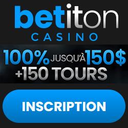 Casino Betiton - Légal et Officiel au Luxembourg et au Canada - Machines à sous en ligne qui payent