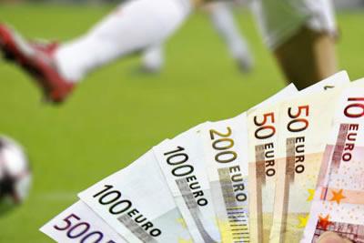 Gagner des euros en misant de l'argent sur le foot.