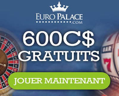 Casino en ligne européen - Légal aussi au Canada.