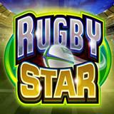 La machine à sous avec des icônes du Rugby.