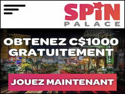 Le casino en ligne rattaché au label de Spin Sports Canada au Québec.